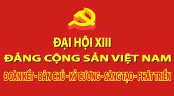 Banner Đại hội Đảng