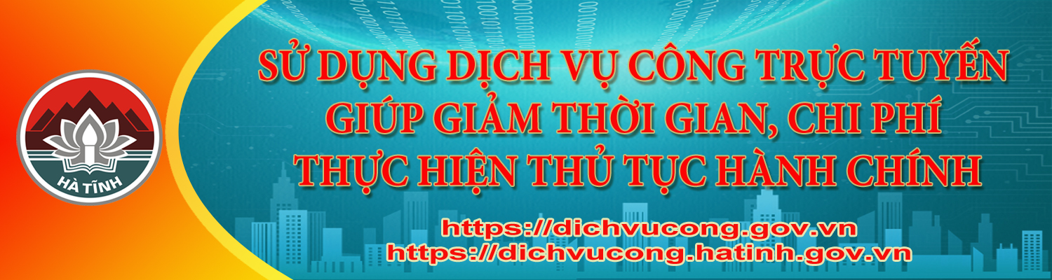 Banner cai cach hanh chinh