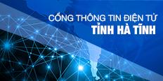 Cổng thông tin điện tử tỉnh Hà Tĩnh