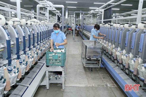 Sản xuất sợi Vinatex