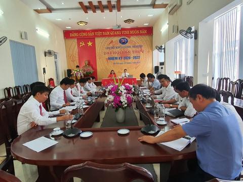 Chi bộ Khối Công nghiệp lãnh đạo chính trị tư tưởng, chủ động học tập và làm theo tư tưởng, đạo đức, phong cách Hồ Chí Minh