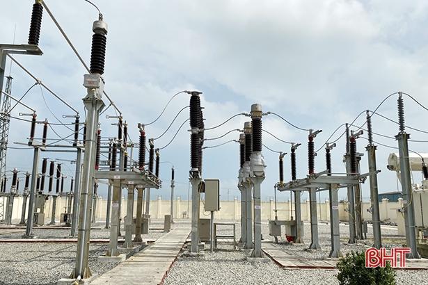 Đóng điện thành công trạm biến áp 110Kv Nghi Xuân