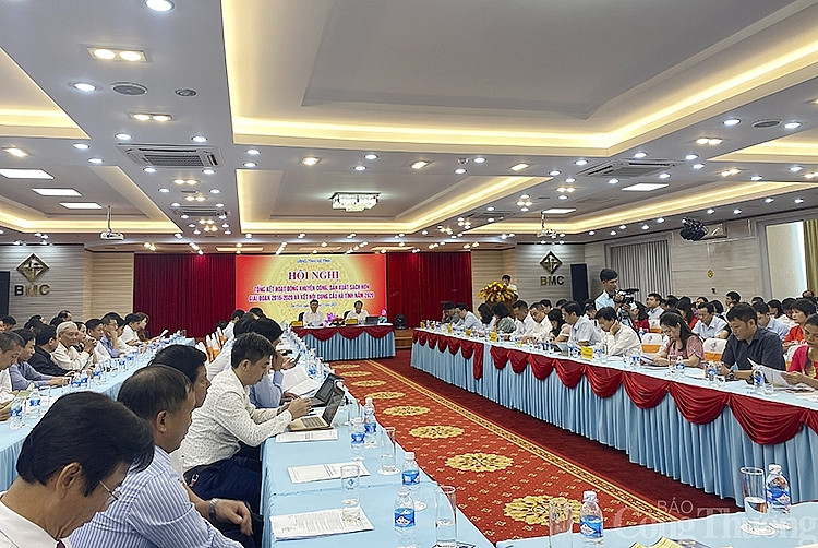 Hà Tĩnh tổ chức Hội nghị khuyến công, sản xuất sạch hơn và kết nối cung cầu năm 2020