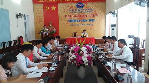 Đại hội Chi bộ Khối Văn phòng, Sở Công Thương lần thứ V, nhiệm kỳ 2020-2022