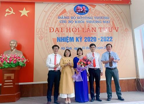 Đại hội chi bộ Khối Thương mại lần thứ V, nhiệm kỳ 2020-2022