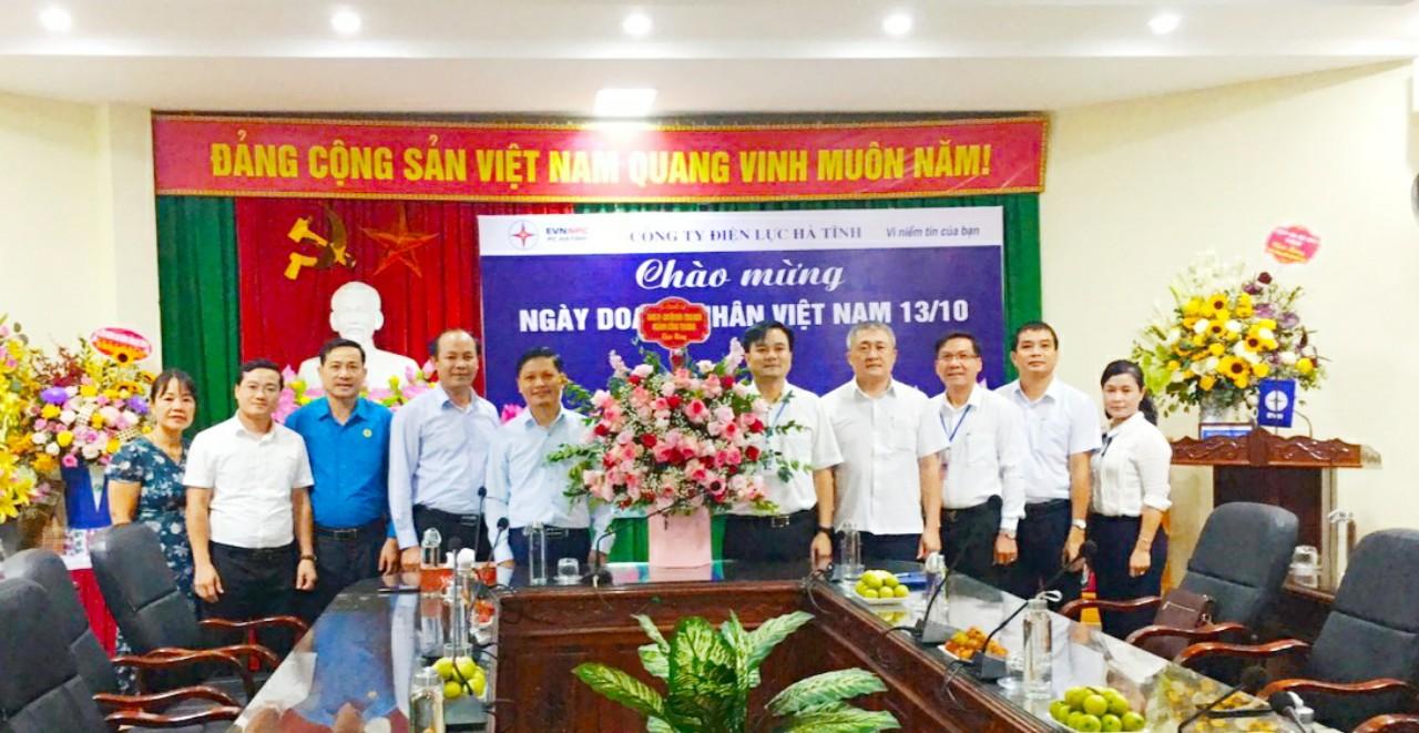 Đảng ủy, chuyên môn, Công đoàn ngành Công Thương: Chúc mừng doanh nghiệp nhân Ngày Doanh nhân Việt Nam (13/10).